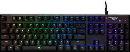 HyperX Alloy FPS RGB mechanical gaming keyboard Qwerty