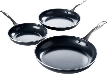 GreenPan Brussels Ceramic Frying Pan Set 20cm + 24cm + 28cm