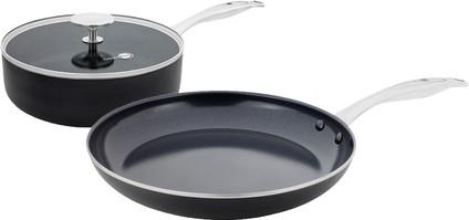 GreenPan Brussels ceramic skillet 24 cm and frying pan 28 cm