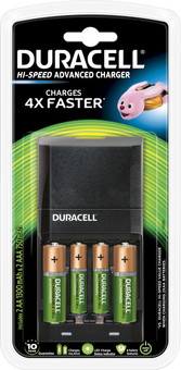 Duracell Hi-Speed battery charger AA - AAA