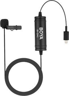 Boya BY-DM1 Lavalier Microphone for iOS