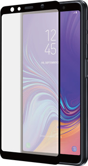 Azuri Curved Tempered Glass Samsung Galaxy A7 (2018) Screen Protector Glass Black