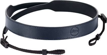 Leica C-Lux Leather Carrying Strap Blue