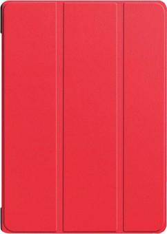 Just in Case Smart Tri-Fold Lenovo Tab E10 Book Case Red