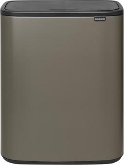 Brabantia Bo Touch Bin 60 Liter Platinum