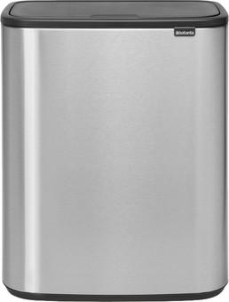 Brabantia Bo Touch Bin 60 Liters Steel Fingerprint Proof