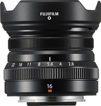 Fujifilm XF16mm f/2.8 R WR Black