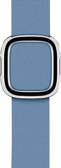 Apple Watch 38/40mm Modern Leather Watch Strap Cornflower Blue - Medium