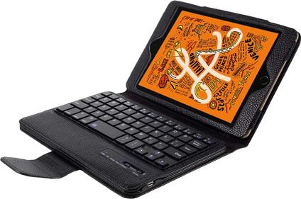 Just in Case Apple iPad Mini 5 Bluetooth Keyboard Case Black QWERTY