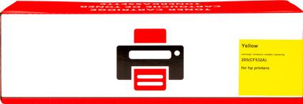 Pixeljet 205A Toner Cartridge Yellow XL for HP printers (CF532A)