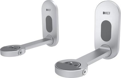 KEF B1 Wall bracket Silver per pair