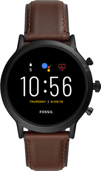 Fossil Carlyle Gen 5 Display FTW4026 Black/Brown