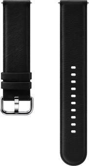 Samsung Galaxy Watch Active 2 Leather Strap Black