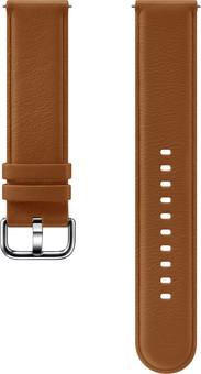 Samsung Galaxy Watch Active 2 Leather Strap Brown
