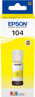 Epson 104 Ink Bottle Yellow