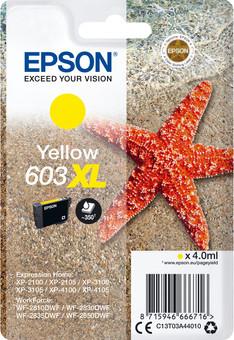 Epson 603XL Cartridge Yellow