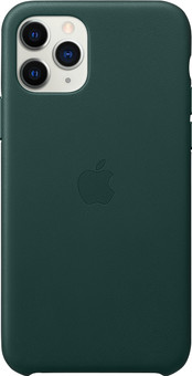Apple iPhone 11 Pro Leather Back Cover Forest Green