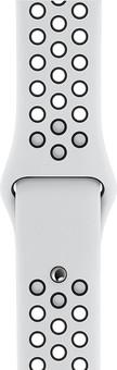Apple Watch 38/40mm Silicone Watch Strap Nike Sport Platinum/Black