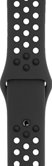 Apple Watch 42/44mm Silicone Watch Strap Nike Sport Anthracite/Black