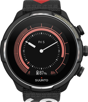 Suunto 9 Baro Titanium Ambassador Edition Black + extra strap