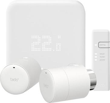 Tado Smart Thermostat V3+ Starter Pack + 2 Radiator Knobs