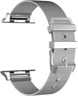 Just in Case Apple Watch 42/44mm Milanese Strap Silver