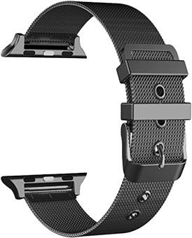 Just in Case Apple Watch 38/40mm Milanese Strap Black