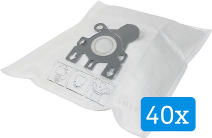 Veripart Vacuum Cleaner Bags for Miele Complete (40 units)