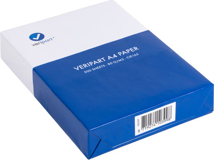 Veripart A4 Paper 80g/m2 500 Sheets