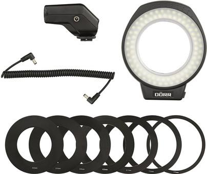 Dörr Ultra 80 LED Ring Light with Flash