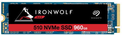 Seagate IronWolf 510 NVMe M.2 NAS SSD 960GB