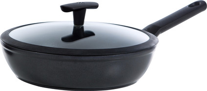 BK Easy Induction High-sided Skillet with Lid 28cm