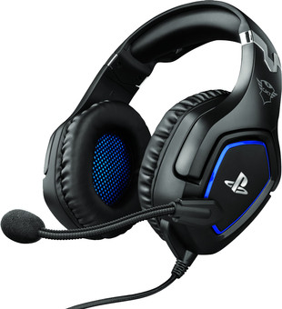 Trust GXT 488 FORZE Official Licensed - PlayStation 4 and 5 Gaming Headset - Black