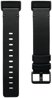 Fitbit Charge 4 Leather Strap Black Size S