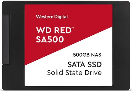 WD Red SA500 NAS 2.5-inch SSD 500GB