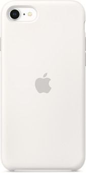 Apple iPhone SE Silicone Back Cover White