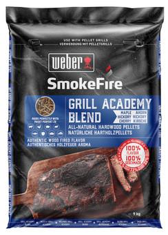 Weber Natural Hardwood Pellets - Grill Academy Blend