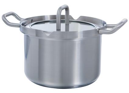 BK Q-Linair Master Glass Cooking Pot 18cm