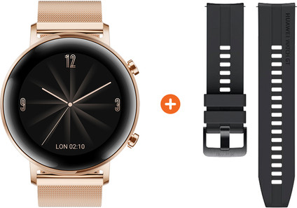 Huawei Watch GT 2 Stainless Steel Rose Gold 42mm