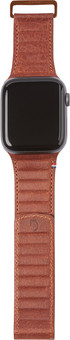 Decoded Apple Watch 42/44mm Leather Strap Brown