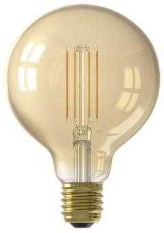 Calex WiFi Smart G95 Globe Light Gold Filament E27
