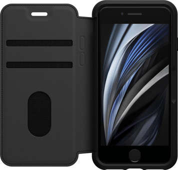 OtterBox Strada Apple iPhone SE 2/8/7/6/6s Book Case Black