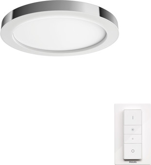 Philips Hue Adore Bathroom Ceiling Lamp White Ambiance Chrome