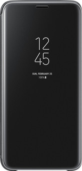 Samsung Galaxy S9 Plus Clear Stand View Cover Black
