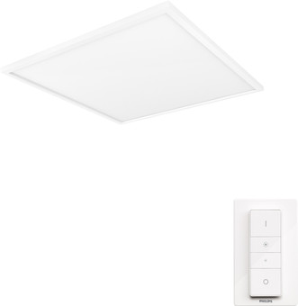 Philips Hue Aurelle Ceiling Lamp White Ambiance Square - Large