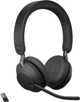 Jabra Evolve2 65 Link380a UC Stereo Black
