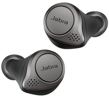 Jabra Elite 75t WLC with wireless charging Titanium Black