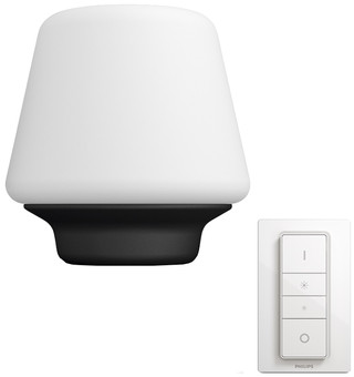 Philips Hue Wellness Table Lamp White Ambiance Black