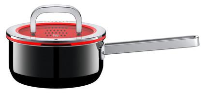 WMF FusionTec Functional Saucepan 16cm + Lid Black