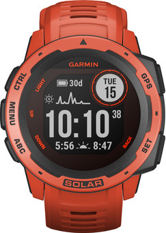 Garmin Instinct Solar Red
